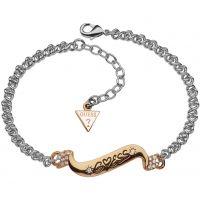 Damen Guess Rhodium Plated Armband