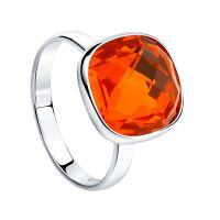 Sokolov Express Yourself Red Crystal Ring JEWEL