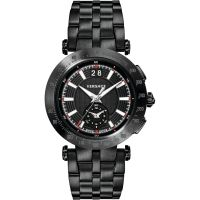 Herren Versace V-Race Chronograf Uhr