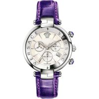 Damen Versace Reve 41mm Chronograph Watch VAJ030016