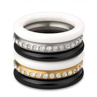 Damen Swatch Bijoux Edelstahl Merry Weiß Ring Größe P