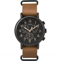 homme Timex Weekender Chronograph Watch TW2P97500
