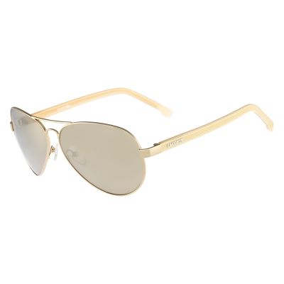 Lacoste Gold Plated L163S Sunglasses