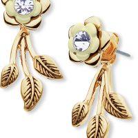 femme Lonna And Lilly Flower Earrings Watch 60451921-2GR