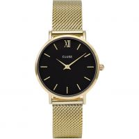 Ladies Cluse Minuit Mesh Watch