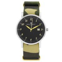 Unisex Smart Turnout Savant with Camo Strap Watch STH5/SB/56/W-CAMO