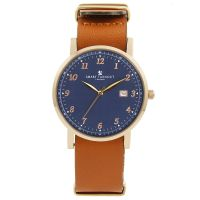 Unisex Smart Turnout Savant with Tan Leather Strap Watch STH5/RN/56/W-TAN
