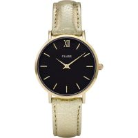 Ladies Cluse Minuit Gold Watch