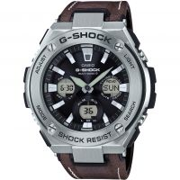 Mens Casio G-Steel Street Vintage Style Alarm Chronograph Radio Controlled Watch
