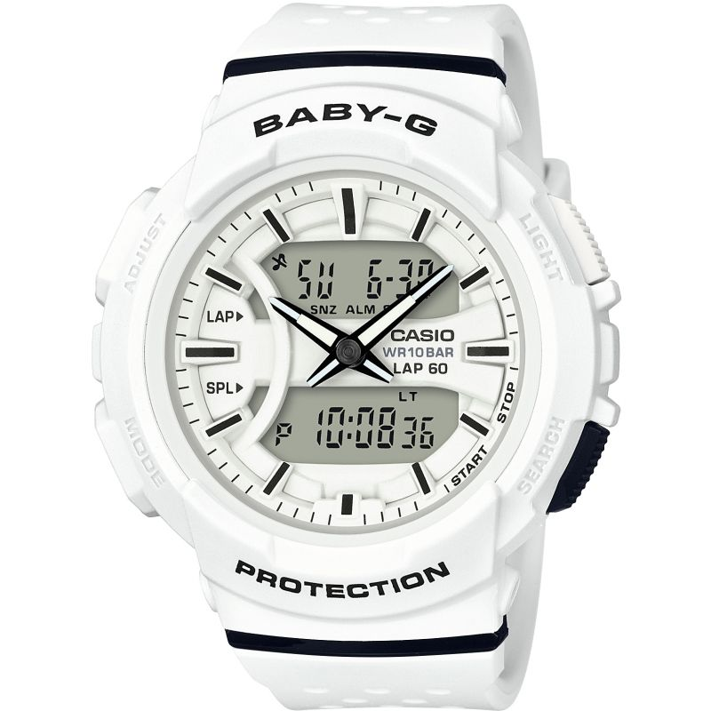 Ladies Casio Baby-G 60 Lap Alarm Chronograph Watch BGA-240-7AER