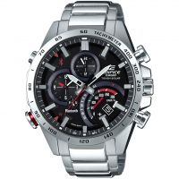 Herren Casio Edifice Bluetooth World Traveller Wecker Chronograf solarbetrieben Uhren