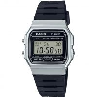 Casio Classic Collection Unisexkronograf Svart F-91WM-7AEF