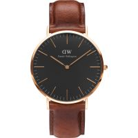 Daniel Wellington Classic Black St Mawes Watch 40mm WATCH