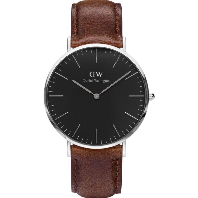 Unisex Daniel Wellington Classic Black Bristol Watch 40mm Watch DW00100131