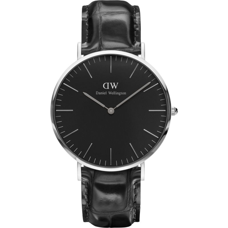 unisexe Daniel Wellington Classic Black Reading Watch 40mm Watch DW00100135