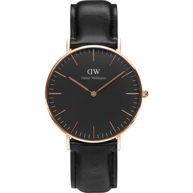 Unisex Daniel Wellington Classic Black Sheffield Watch 36mm Watch DW00100139