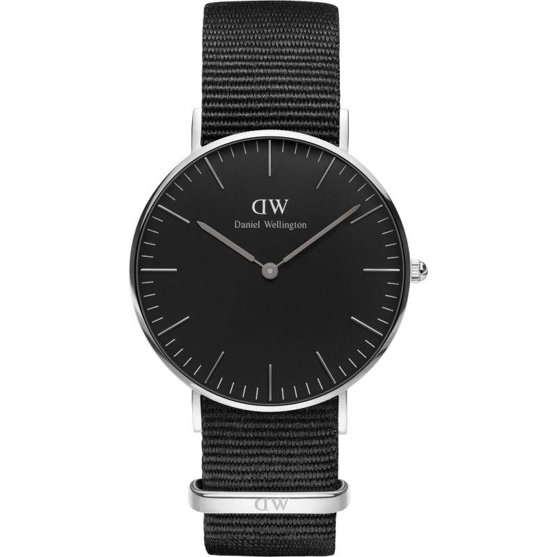 unisexe Daniel Wellington Classic Black Cornwall Watch 36mm Watch DW00100151