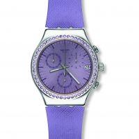 Damen Swatch Aube Chronograf Uhr