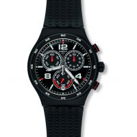 Herren Swatch Destination Shanghai Chronograf Uhr