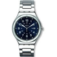 Mens Swatch Blue Boat Watch
