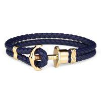 Paul Hewitt vergoldet Größe M Phrep Armband