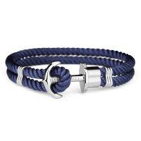 Paul Hewitt Silver Plated Size L Phrep Bracelet PH-PH-N-S-N-L