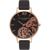 Damen Olivia Burton Animal Motif Schmetterling Wing Uhren