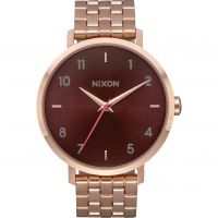 Nixon The Arrow Damklocka Rosa A1090-2617