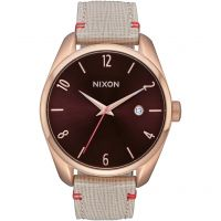 Ladies Nixon The Bullet Leather Watch