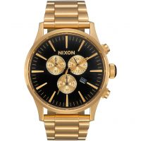 homme Nixon The Sentry Chrono Chronograph Watch A386-510