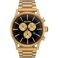 Herren Nixon The Sentry Chrono Chronograph Watch A386-510