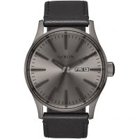 Herren Nixon The Sentry Leder Uhr