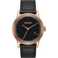 homme Nixon The Station Leather Watch A1161-1098