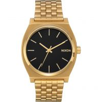 Nixon The Time Teller Unisex horloge Goud A045-2042