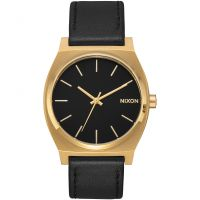 Nixon The Time Teller Unisexklocka Svart A045-2639