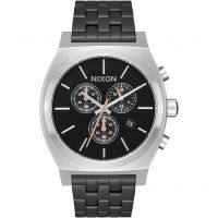 Mens Nixon The Time Teller Chrono Chronograph Watch