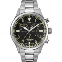 homme Timex The Waterbury Chronograph Watch TW2R24900