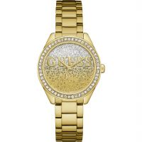femme Guess Glitter Girl Watch W0987L2