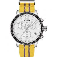 Orologio Cronógrafo da Uomo Tissot Quickster NBA Los Angeles Lakers Special Edition T0954171703705