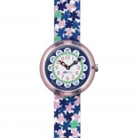 Childrens Flik Flak London Flower Watch
