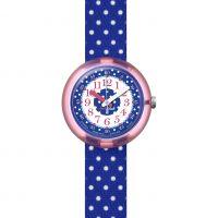 Kinder Flik Flak Blue Crumble Watch FPNP013