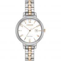 Ladies Citizen Silhouette Eco-Drive Watch
