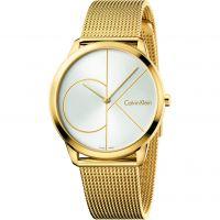 Unisex Calvin Klein Minimal 40mm Watch K3M21526