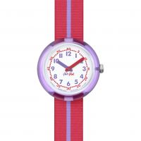 enfant Flik Flak Purple Band Watch FPNP021