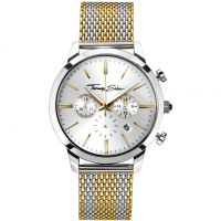 Zegarek męski Thomas Sabo Rebel Spirit Chrono WA0286-282-201-42MM