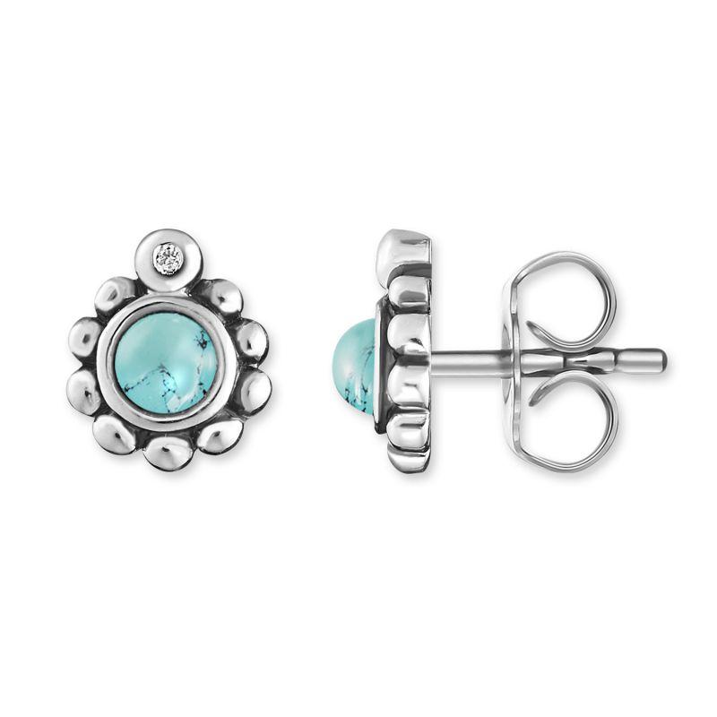 Ladies Thomas Sabo Sterling Silver Glam & Soul Diamond Stud Earrings H0004-357-17