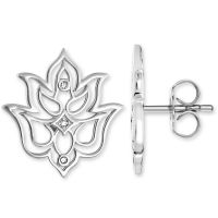 femme Thomas Sabo Jewellery Glam & Soul Diamond Stud Earrings Watch H0007-725-21