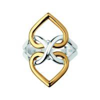 Damen Verbindungen Of London Sterlingsilber Infinite Love Ring Größe L