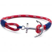 Tom Hope Sterling Silver Arctic Blue Bracelet Size S TM0021