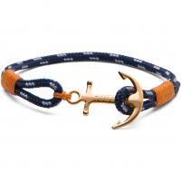 Tom Hope Sterling Silver 24K One Bracelet Size L TM0123